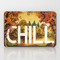 chill iPad Cases featuring Chill by James McKenzie