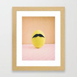 Eggmen Series: Mr. Green Framed Art Print