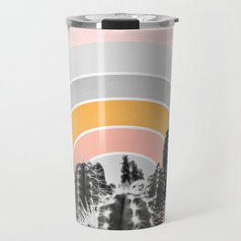 Desert rainbow Travel Mug