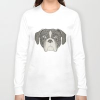 boxer Long Sleeve T-shirts featuring Boxer by Sosarora