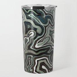 Abstract #1 - I Aquatic Travel Mug