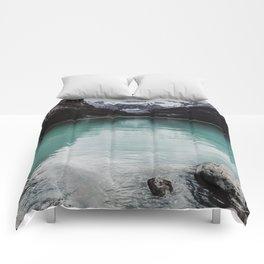 Lake Louise, Canada Comforters
