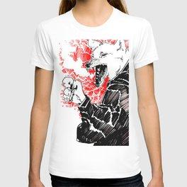 smoke wolf T-shirt