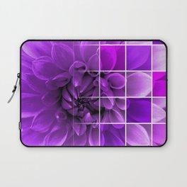 Chequered Flower design Laptop Sleeve
