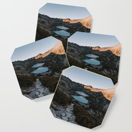 Mountain Ponds - Landscape and Nature Photography Coaster
