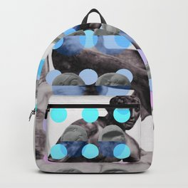 Statue With A Dot Gradient 2 Backpack