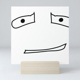 Awkward Face Mini Art Print