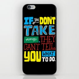 The key to the whole thing iPhone Skin