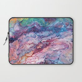 Rainbow Dream Groovy Flow #22 Laptop Sleeve