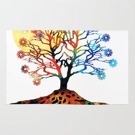 Spiritual Art - Tree Of Life Rug