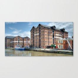Llanthony Warehouse Canvas Print