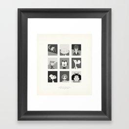 Super Mercredi Bros Heroes (2/8) Framed Art Print