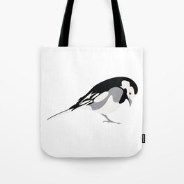 Pied Wagtail Tote Bag