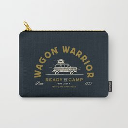 """Wagon Warrior"" Jeep Camping (moss) Carry-All Pouch"