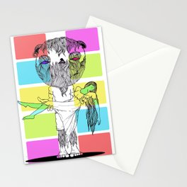 Ape Lifter Stationery Cards