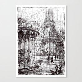 Paris IX Canvas Print