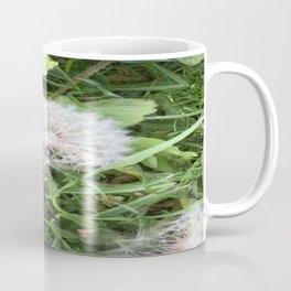 Green Bird (with Fascinator) Coffee Mug