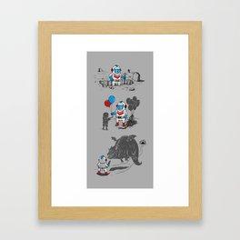 Mr. Dug alternatives jobs Framed Art Print