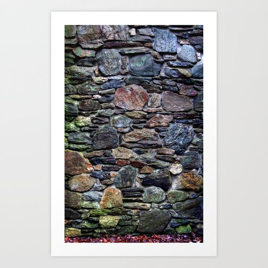 I So Love Rock Walls Art Print