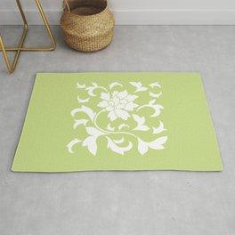Oriental Flower - Daiquiri Green Rug