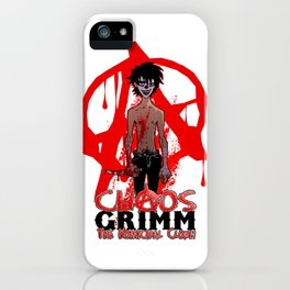Chaos Grimm The Homicidal Clown iPhone Case