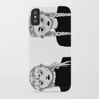 sister iPhone & iPod Cases featuring sister by pharm