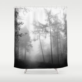 TROUGHT THE FOREST Shower Curtain