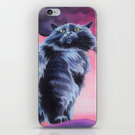 The Shadow Cat's Reign iPhone Skin