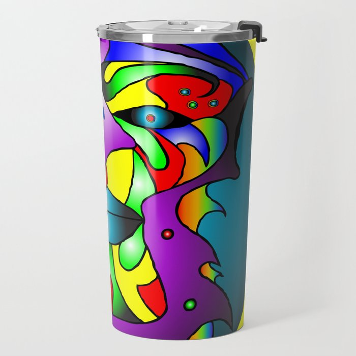 Ashanti - Yellow Travel Mug