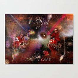 Drum War Canvas Print