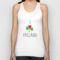 ruben ireland Tank Tops featuring Ireland by David