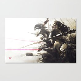 Pack Canvas Print