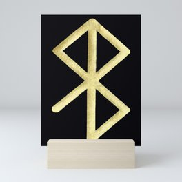 Peace and Happiness Runic Symbol Mini Art Print