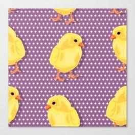 Chiken pattern Canvas Print
