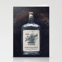 whiskey Stationery Cards featuring Whiskey by F2images
