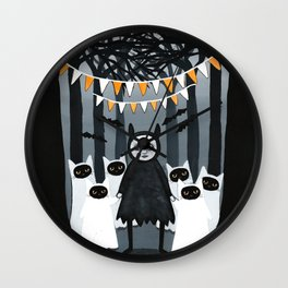 The Ghost Collector Wall Clock