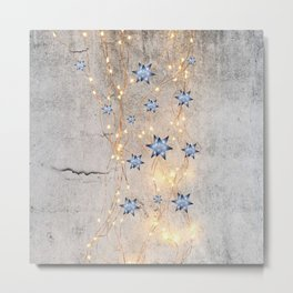 Star Wall | Christmas Spirit Metal Print