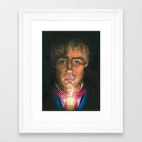 les miserables Framed Art Prints featuring Les Miserables  by Allison Gossett
