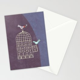 Leaving the Birdcage Stationery Cards