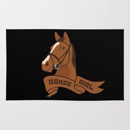 Horse Girl Rug