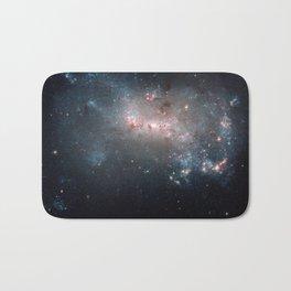 Starburst - Captured by Hubble Telescope Bath Mat