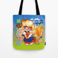 barachan Tote Bags featuring v soba by barachan