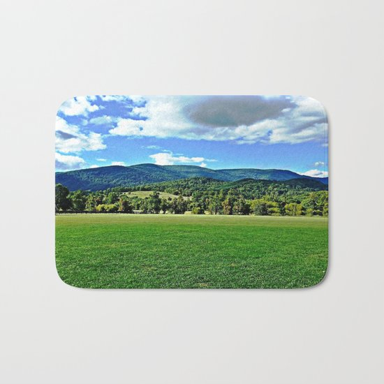 Captivating Virginia Landscape - Blue Ridge Mountains Bath Mat