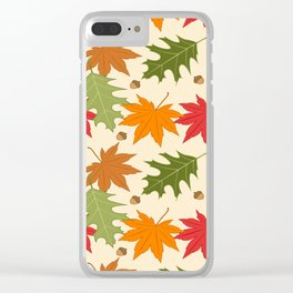 Autumn Day Clear iPhone Case