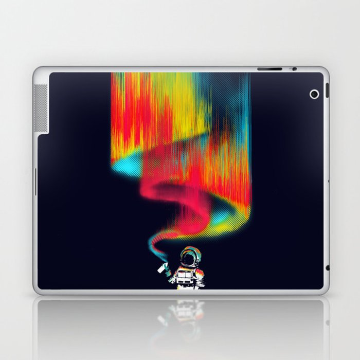Space vandal Laptop & iPad Skin