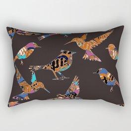 Batik birds Rectangular Pillow
