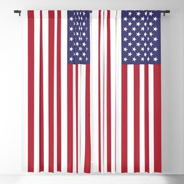 USA flag Blackout Curtain