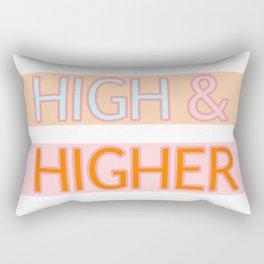 HIGH & HIGHER Rectangular Pillow