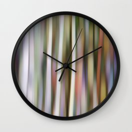 color bathing Wall Clock