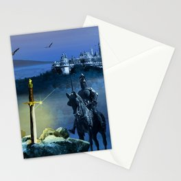 Camelot And The Sword Excalibur Stationery Cards